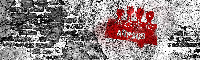 Mur et logo AQPSUD